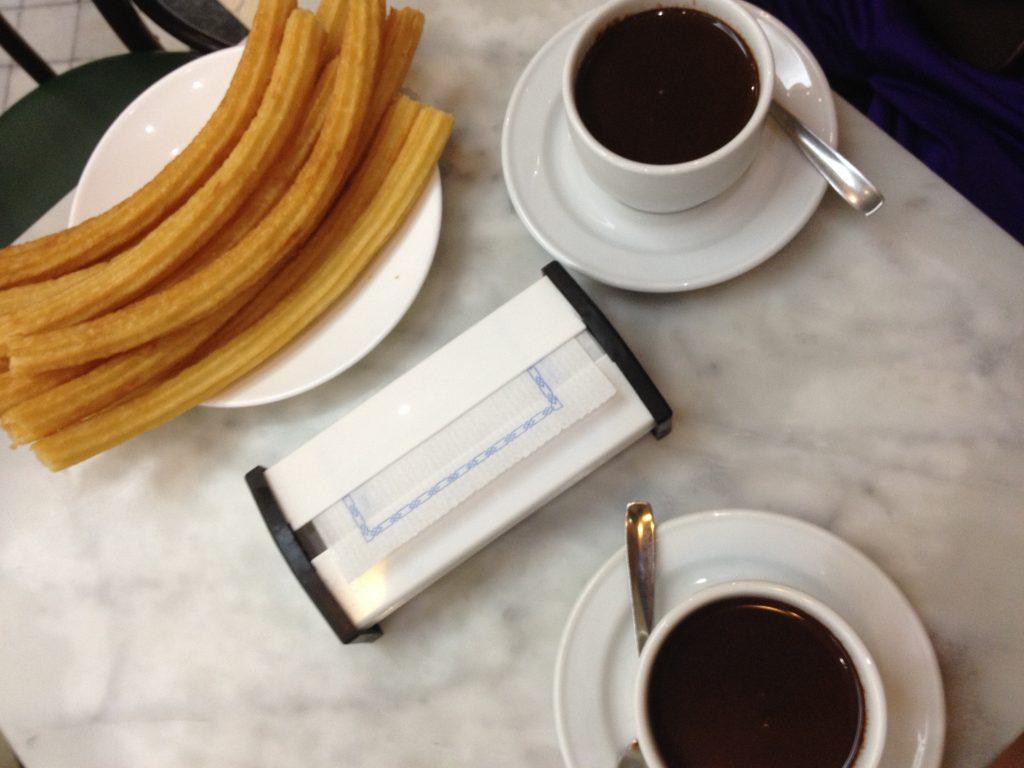 Dove mangiare a Madrid: churreria San Gines