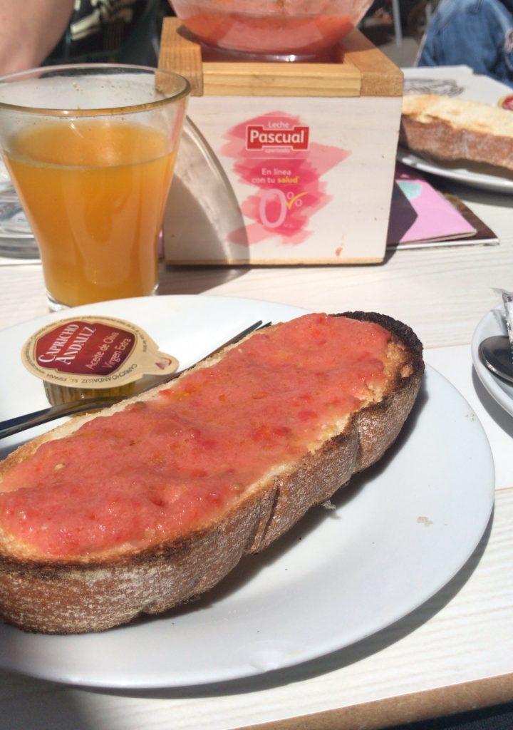 Dove mangiare a Madrid: tostada