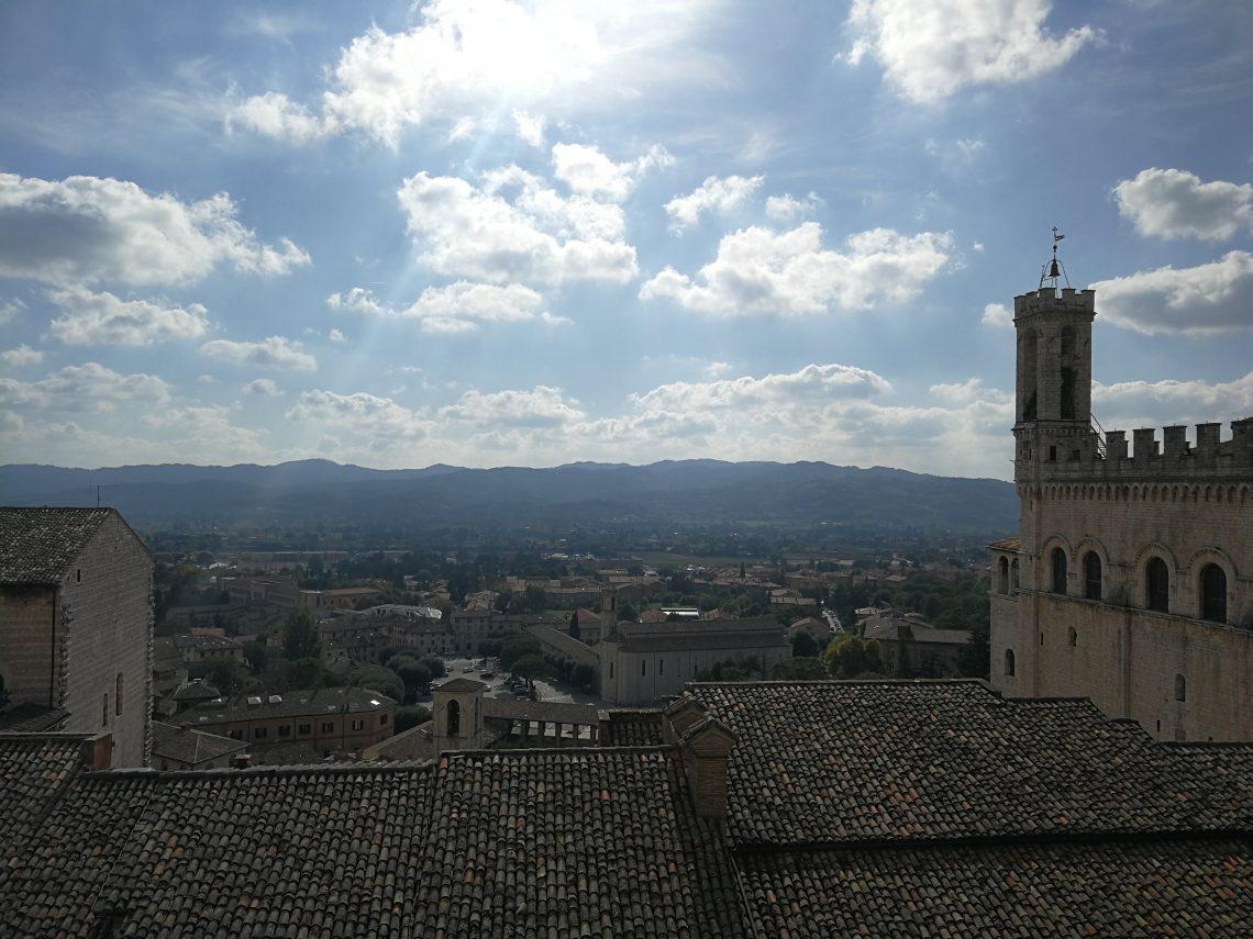 Panorama Gubbio