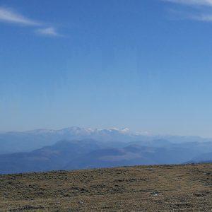in cima al monte catria