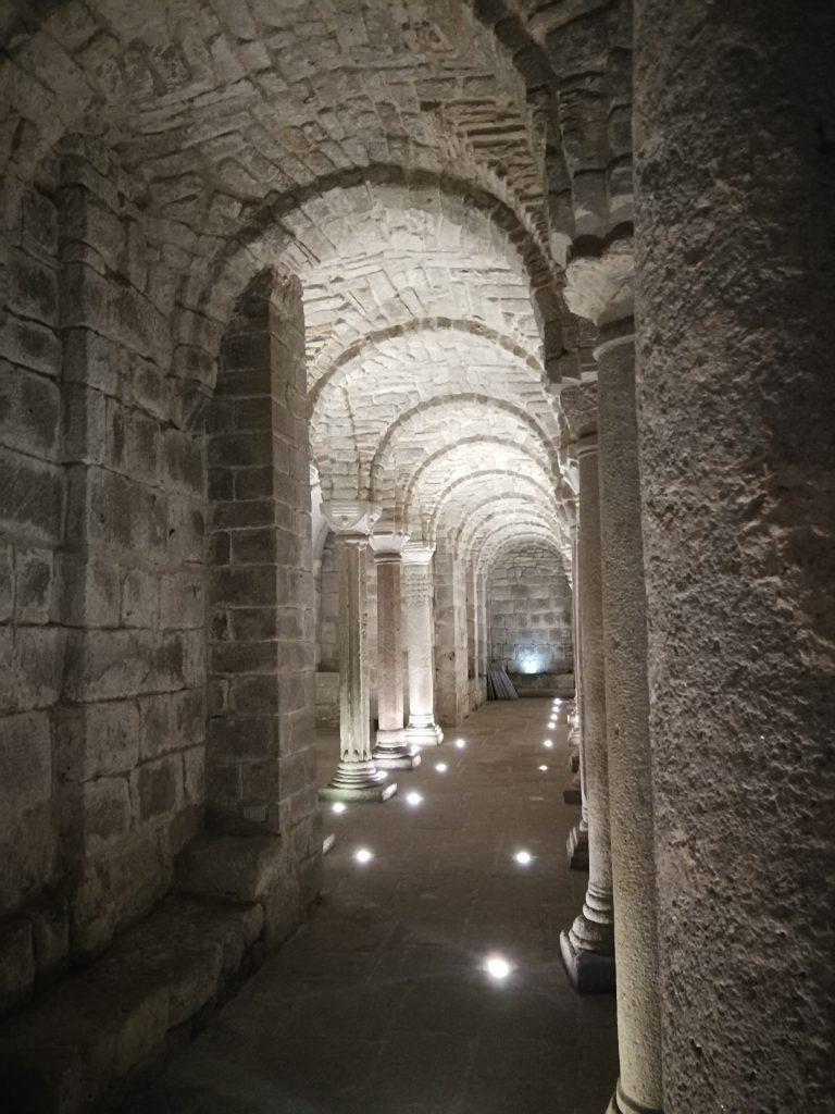 cripta abbadia san salvatore