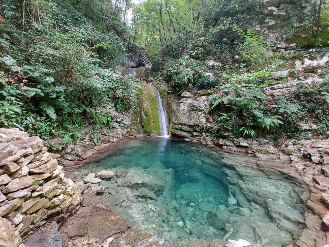 Cascate del Fosso di Teria a Secchiano (Cagli)