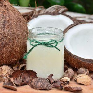 Olio di cocco in viaggio