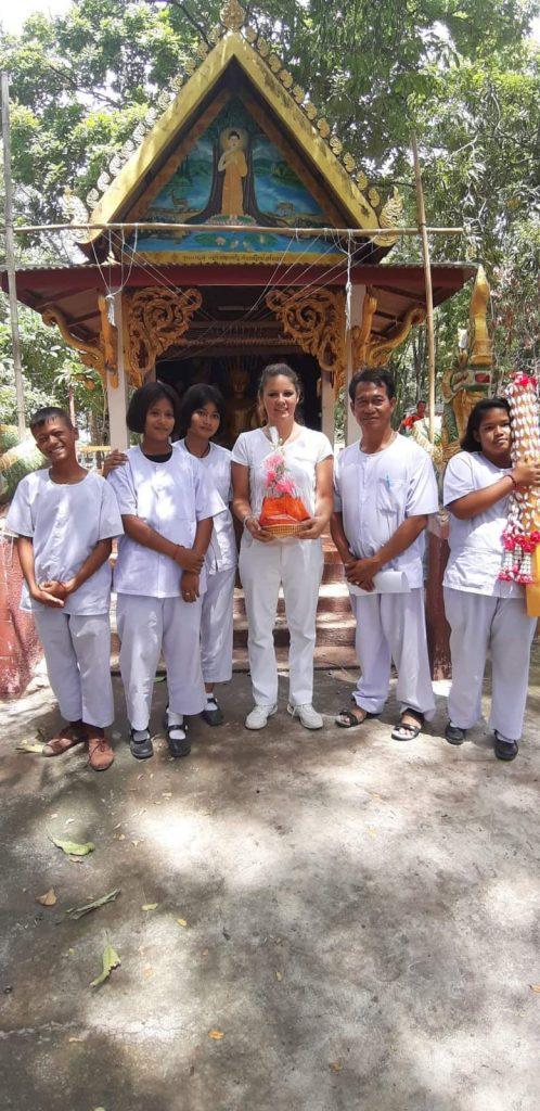 volontariato thailandia