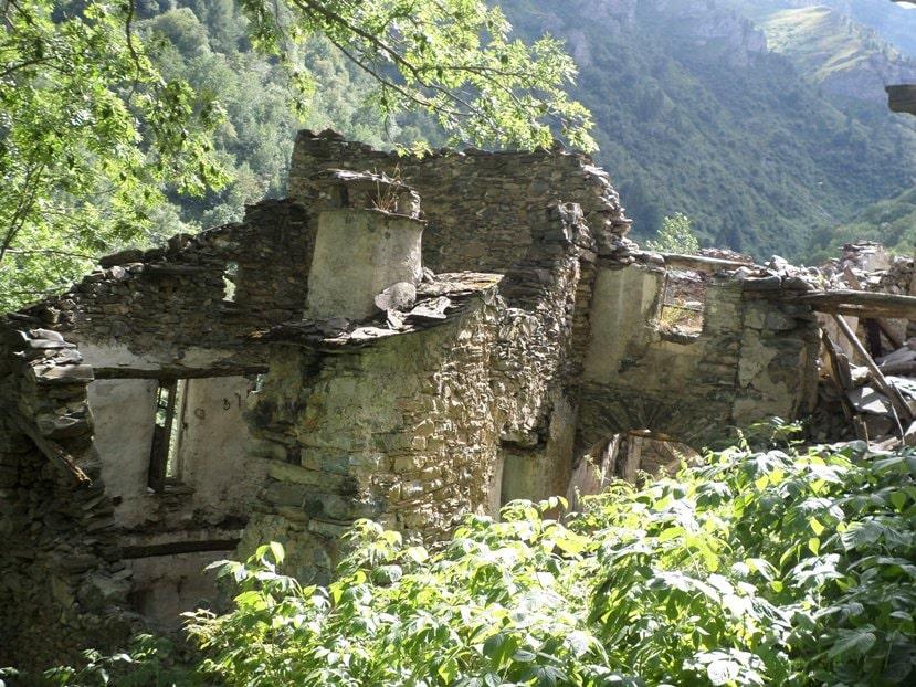 borghi fantasma centro nord italia