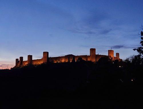 dormire in un castello monteriggioni